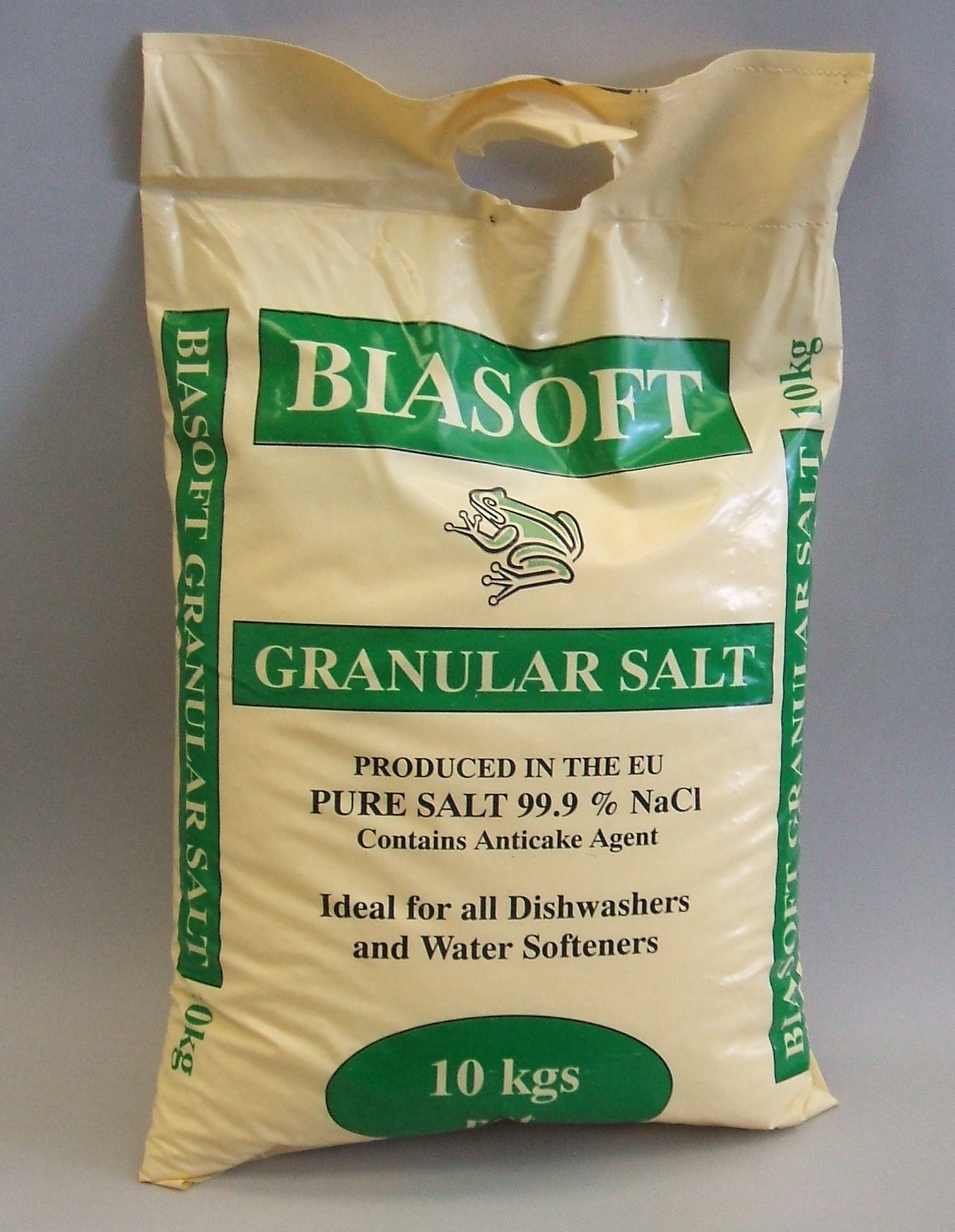 Granular Salt 10Kg (with handles) x 4