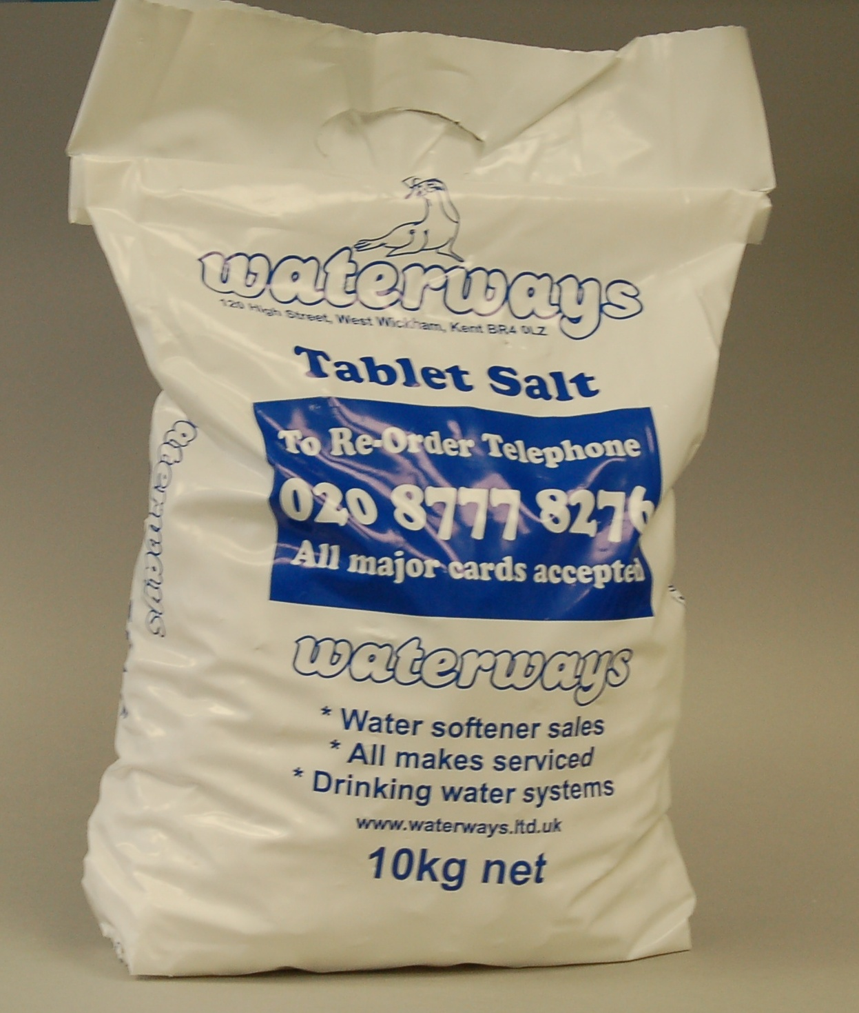 Tablet Salt 10Kg (with Handle) x 4