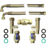 Water softener installation kit Hi Flow