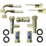 Water softener installation kit